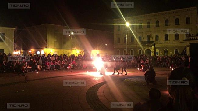 Spectacol rupt din basme, la Timisoara, la Ora Pamantului